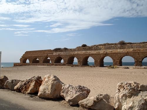 Aqueduct of Caesarea, Israel