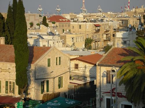 The German Colony in Haifa