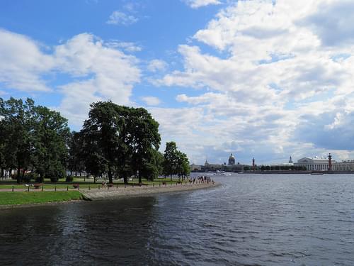 Стрелка Васильевского острова // Spit of Vasilievsky Island