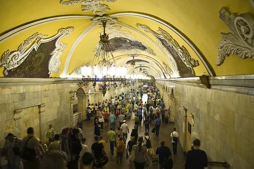 Komsomolskaya Station Overview