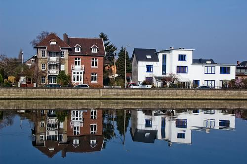 Belgique - Province de Li!ège - La Meuse à Visé -