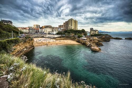 Biarritz, Euskadi. HDR