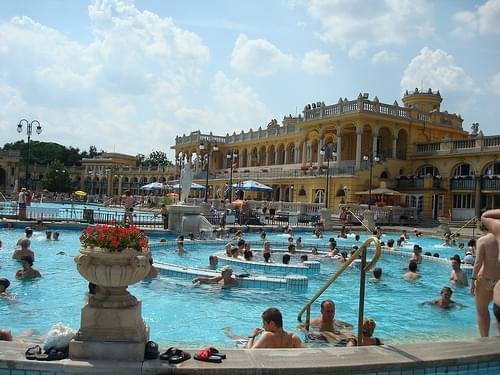 Szechenyi Thermal bath, Budapest