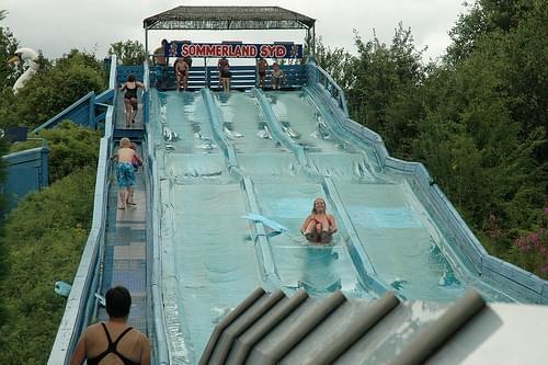 Zwemmen in Sommerland Syd