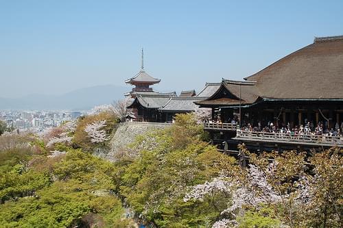 Kiyomizu-dera / Kyoto