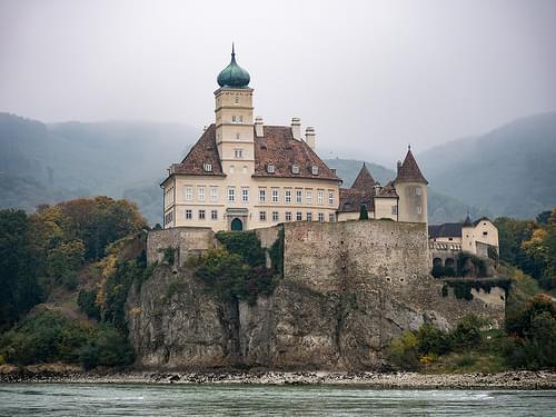 Schonbuhel Castle near Melk Austria