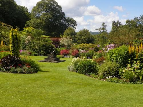 Holehird Gardens , the Lake District Cumbria