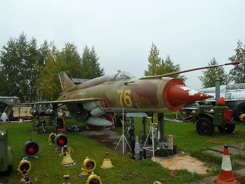 Mikoyan-Gurevich MiG-21bis single-seat multi-role fighter