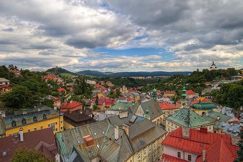 Roofs of Banska Stiavnica