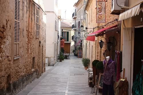 A Street in Alcúdia