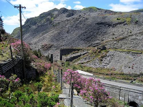 View from Llechwedd Slate Caverns, Blaenau Ffestiniog