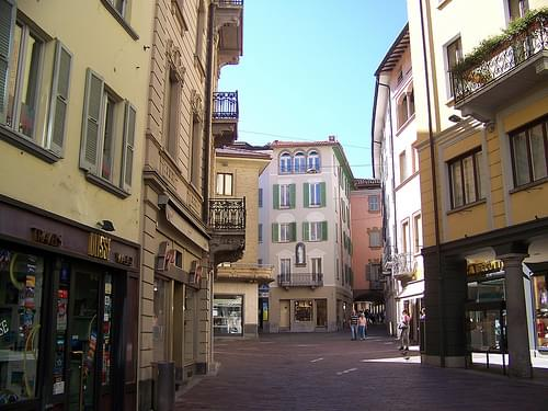 Historic Center, Lugano
