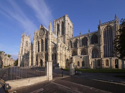 York Minster. Early morning, autumn