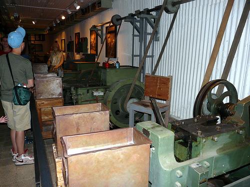 Underground ammunition factory
