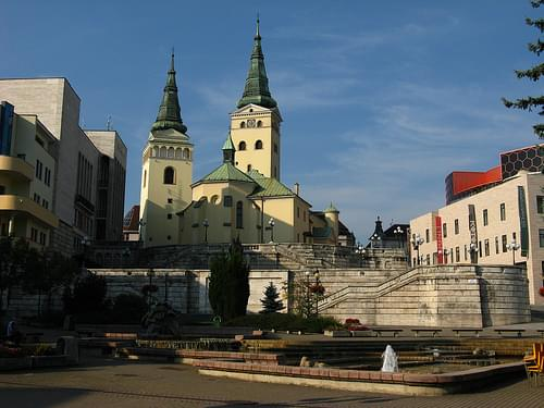Žilina - Church