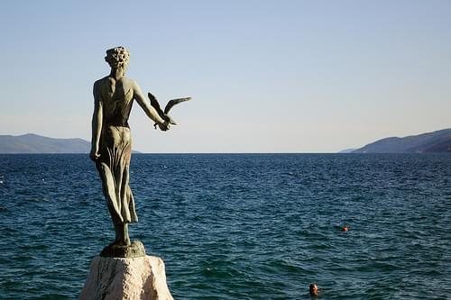 Maiden with the Seagull, Opatija