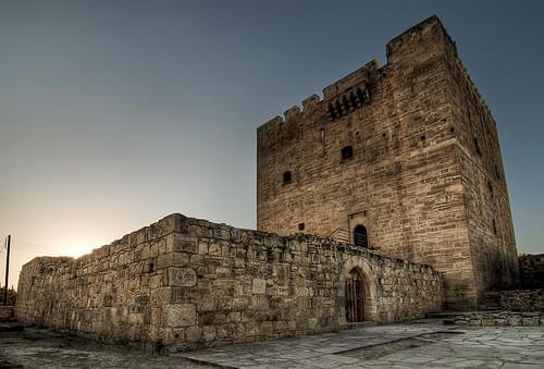 Zamek w Kolossi