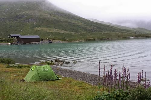 Camping at Jotunheimen National Park