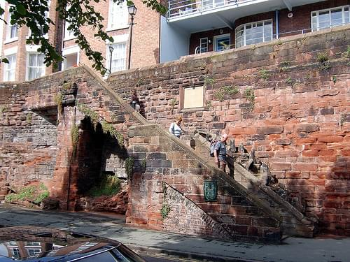 Chester 2006: Onto the wall