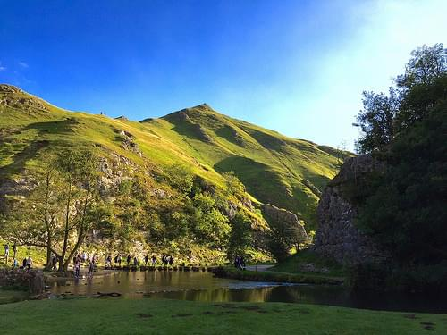Dovedale in the Peak District