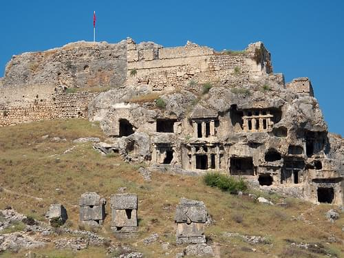 Tlos - Lycian Rock Tombs