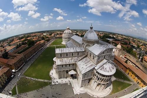 - Il mondo è rotondo a Pisa - Peleng 8mm