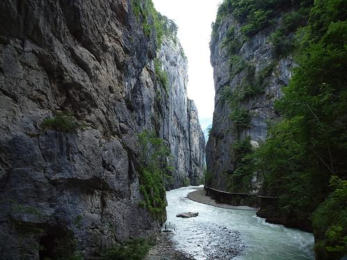 Inside the Aar Gorge