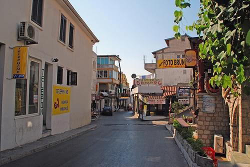 Narrow street, Ulcinj