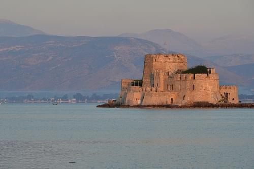 Bourtzi Castle, Nafplion