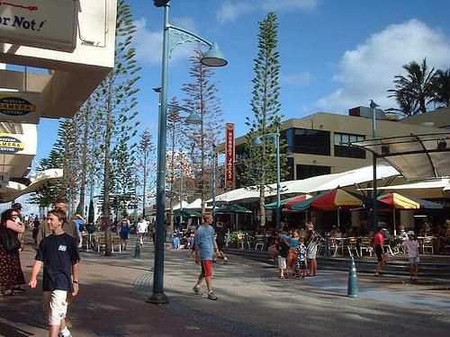 surfers paradise town centre
