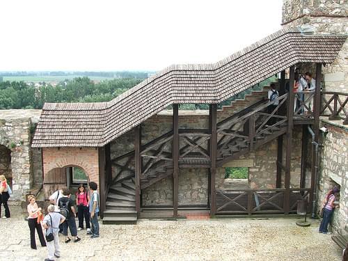 Auf der Burg von Sárospatak Nr. 4