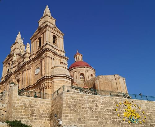 Parish Church Mellieha Malta