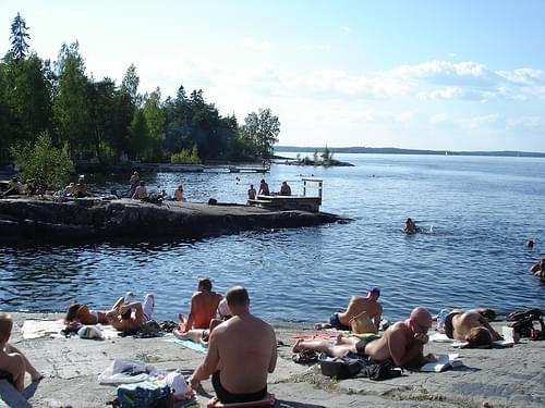 Rauhaniemi bathing area