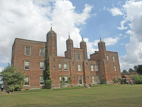 Melford Hall at Long Melford in Suffolk