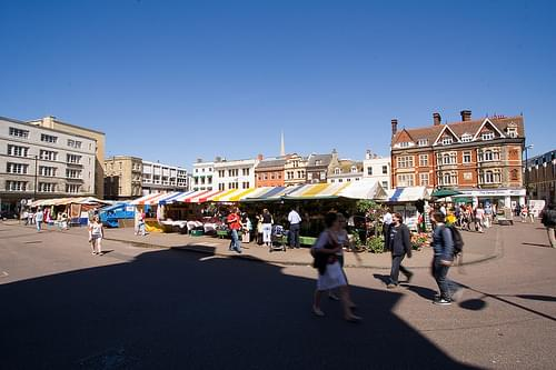 Market Square, Cambridge