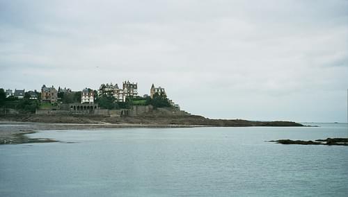 Pointe du Moulinet - vue sur Dinard