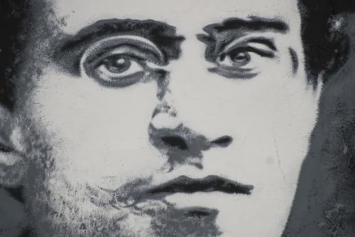 Antonio Gramsci, painted portrait _DDC0043