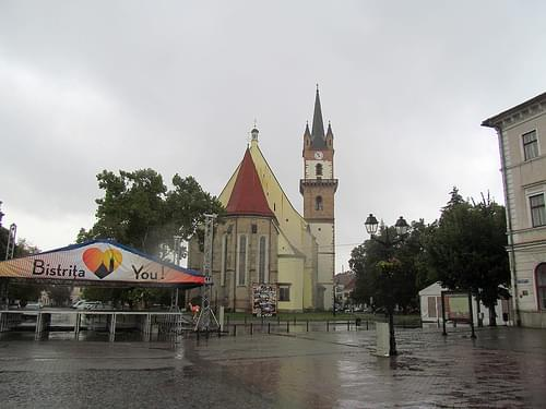 Evangelical Church, Bistrița / Besztrece / Bistritz, Transylvania