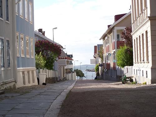 Street on Marstrand