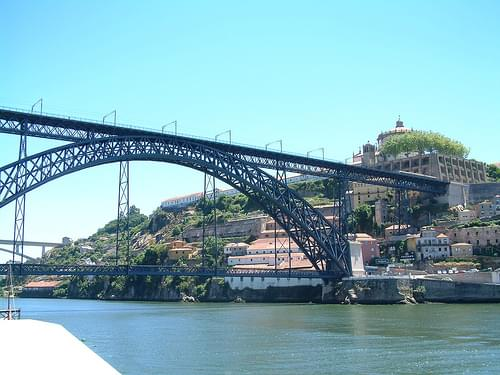 The Dom Luís I bridge, Porto