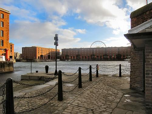 THE ALBERT DOCK..LIVERPOOL, UK.