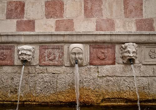 Fountain of the 99 Spouts, L'Aquila