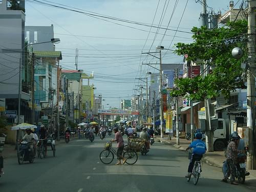 Historic Center, Chau Doc
