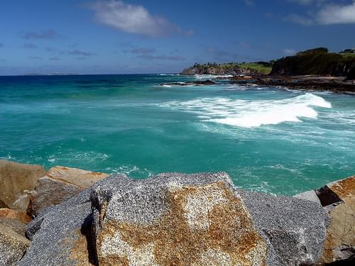 Crashing waves, Narooma, Eurobodalla, New South Wales