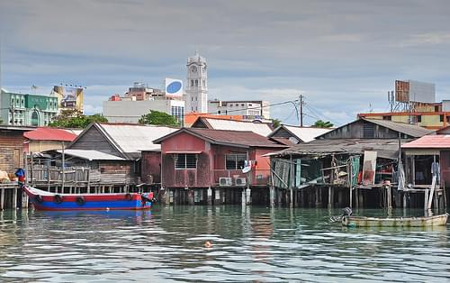 the Chew Clan Jetty, George Town, Penang