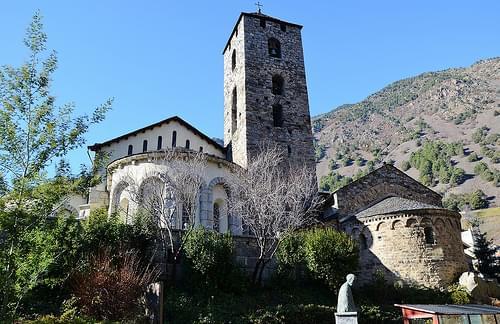 Esglèsia romànica Sant Esteve, Andorra la Vella  -2014