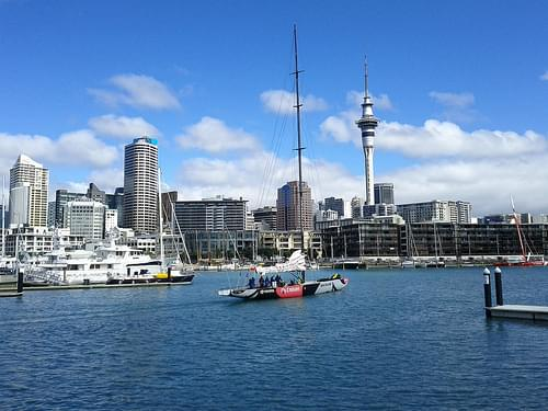 Viaduct Harbor, Auckland