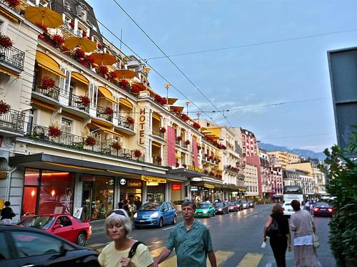 Historic Center, Montreux