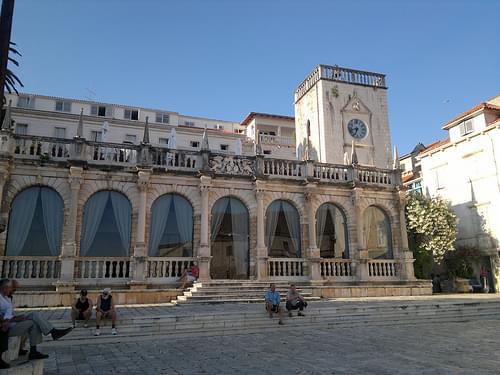 Old Venetian Loggia, Hvar Town