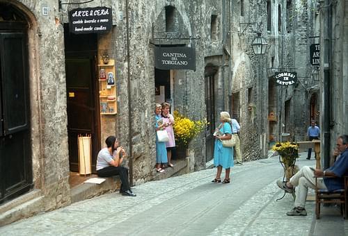 Spoleto Street